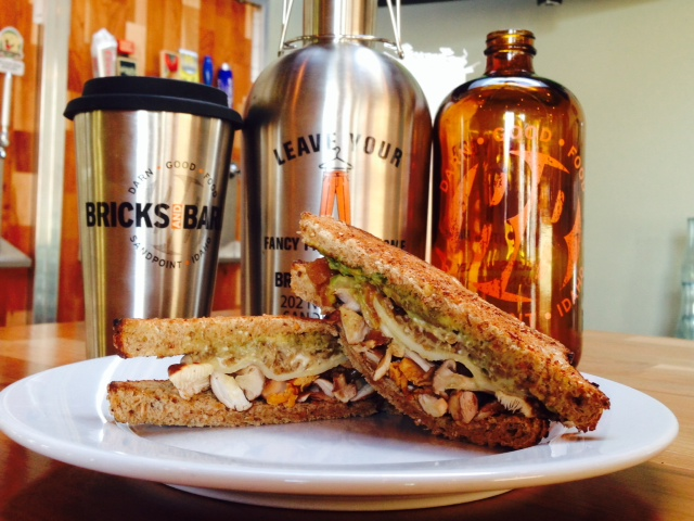 Sandwich and Growlers